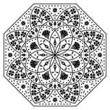 Éléments hongrois d'octogone Image stock