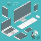 Éléments isométriques de local commercial Image stock