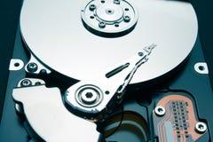 Éléments mécaniques du disque dur Recover a supprimé des dossiers et l'information photo libre de droits