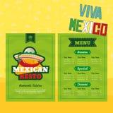 Éléments mexicains Photos stock