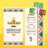 Éléments mexicains Photo stock