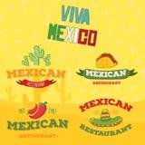 Éléments mexicains Image libre de droits