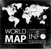 Éléments modernes des graphiques d'infos Image libre de droits