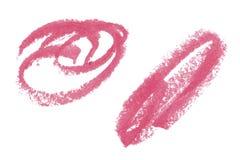 Éléments naturels de conception d'art de pommade de rouge à lèvres Image libre de droits