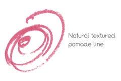 Éléments naturels de conception d'art de pommade de rouge à lèvres Photos stock