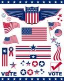 éléments patriotiques illustration libre de droits