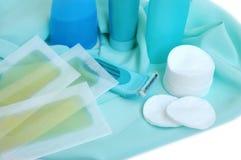 Éléments pour la propreté et cheveu-retirer Photographie stock libre de droits