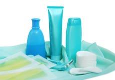 Éléments pour la propreté et cheveu-retirer Image libre de droits