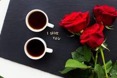 Éléments pour le jour du ` s de St Valentine Photo stock