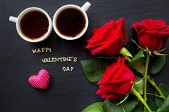 Éléments pour le jour du ` s de St Valentine Photos libres de droits