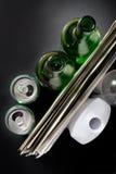 Éléments recyclables des ordures Image stock