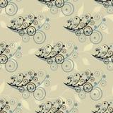 Éléments sans couture abstraits de fleur Photo libre de droits
