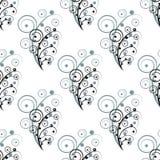 Éléments sans couture abstraits de fleur Image libre de droits