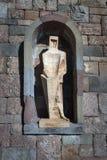Éléments sculpturaux chez Monserrat Abbey Image libre de droits