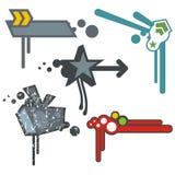 Éléments urbains de conception illustration stock