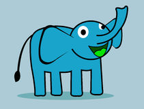 Éléphant illustration de vecteur