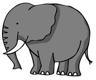 Éléphant illustration stock