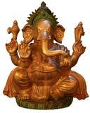 Éléphant bouddhiste d'isolement Image libre de droits