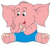 Éléphant (clip-art de vecteur) Photos stock