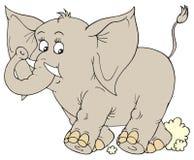 Éléphant (clip-art de vecteur) Photographie stock libre de droits