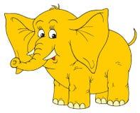 Éléphant (clip-art de vecteur) Photographie stock