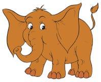 Éléphant (clip-art de vecteur) Photos libres de droits