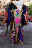 Éléphant coloré à l'Inde de Jaipur Ràjasthàn de festival de Gangaur Photos stock