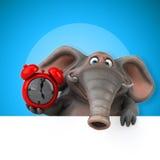 Éléphant d'amusement - illustration 3D Photos stock