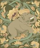 Éléphant d'Asie illustration libre de droits