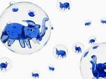 Éléphant de bulle Images stock