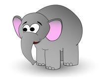 Éléphant de dessin animé Images libres de droits