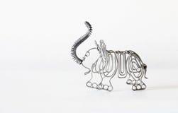 Éléphant de fil Image libre de droits
