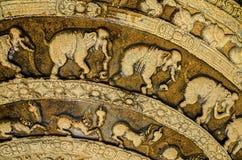 Éléphant de temple de Sri Lanka Images libres de droits