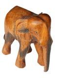 Éléphant en bois Photos stock