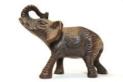 Éléphant en bronze Photos libres de droits