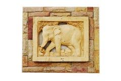 Éléphant en céramique Photographie stock libre de droits