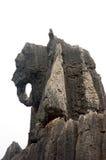 Éléphant en pierre Images stock