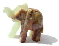 Éléphant en pierre Images libres de droits