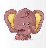 Éléphant mignon Images stock