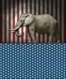 Éléphant républicain Image stock