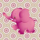 Éléphant rose Photo libre de droits