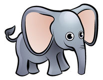 Éléphant Safari Animals Cartoon Character Photographie stock libre de droits