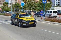 Éléphant Team Car de loto Images libres de droits