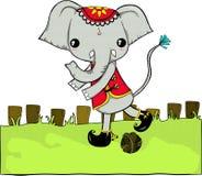 Éléphant thaïlandais illustration de vecteur