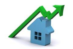 élévation de marché du logement illustration stock