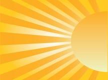 Élévation de Sun illustration de vecteur