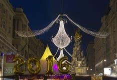 Él días de fiesta por Noche Vieja 2016 Imagen de archivo