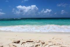 Él mar del Caribe Fotografía de archivo libre de regalías