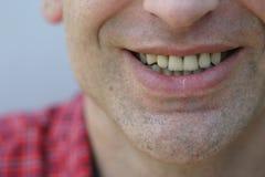 Él sonríe Fotografía de archivo libre de regalías