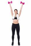 Élaboration d'entraîneur de forme physique Photos libres de droits